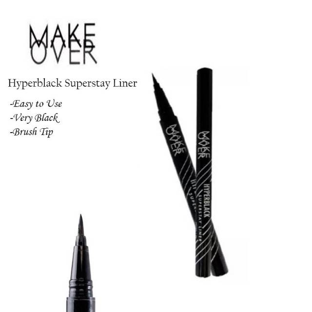 7. Make Over Hyperblack Superstay Liner